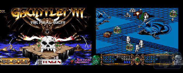 Gauntlet III: The Final Quest - Double Barrel Screenshot