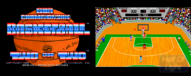 GBA Championship Basketball: Two On Two - Double Barrel Screenshot
