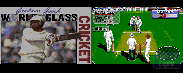 Graham Gooch World Class Cricket - Double Barrel Screenshot