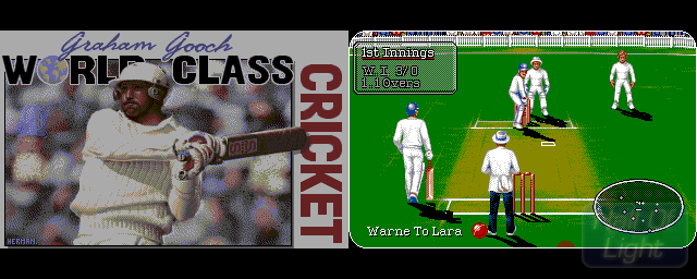 Graham Gooch World Class Cricket Test Match Special Edition - Double Barrel Screenshot