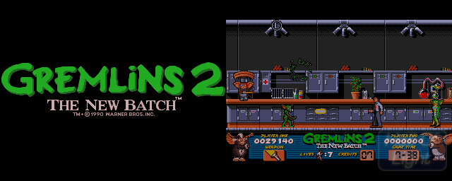 Gremlins 2: The New Batch - Double Barrel Screenshot