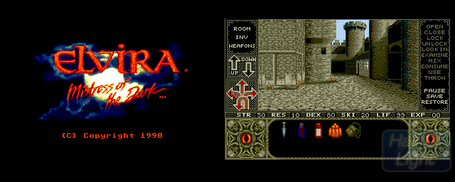 Elvira: Mistress Of The Dark - Double Barrel Screenshot