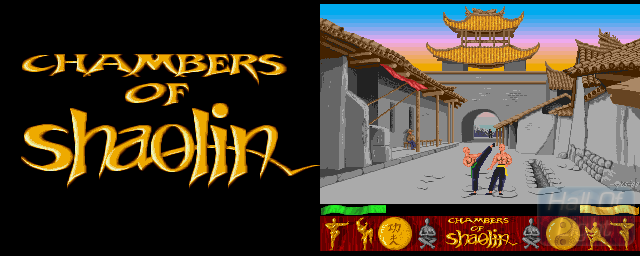 Chambers Of Shaolin - Double Barrel Screenshot