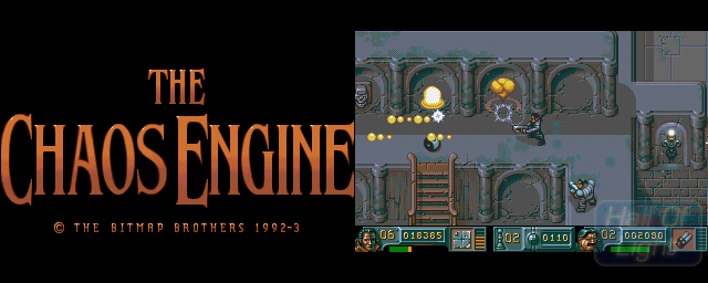 Chaos Engine, The - Double Barrel Screenshot