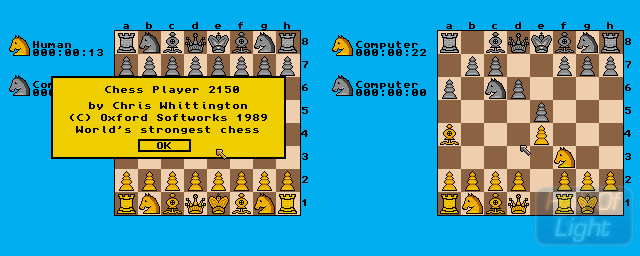 Chess Player 2150 - Double Barrel Screenshot