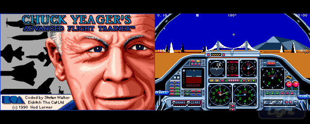 Chuck Yeager's Advanced Flight Trainer 2.0 - Double Barrel Screenshot