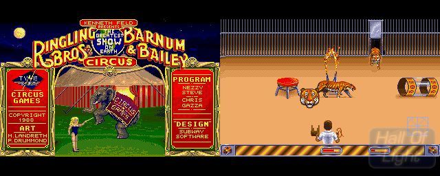 Circus Games - Double Barrel Screenshot