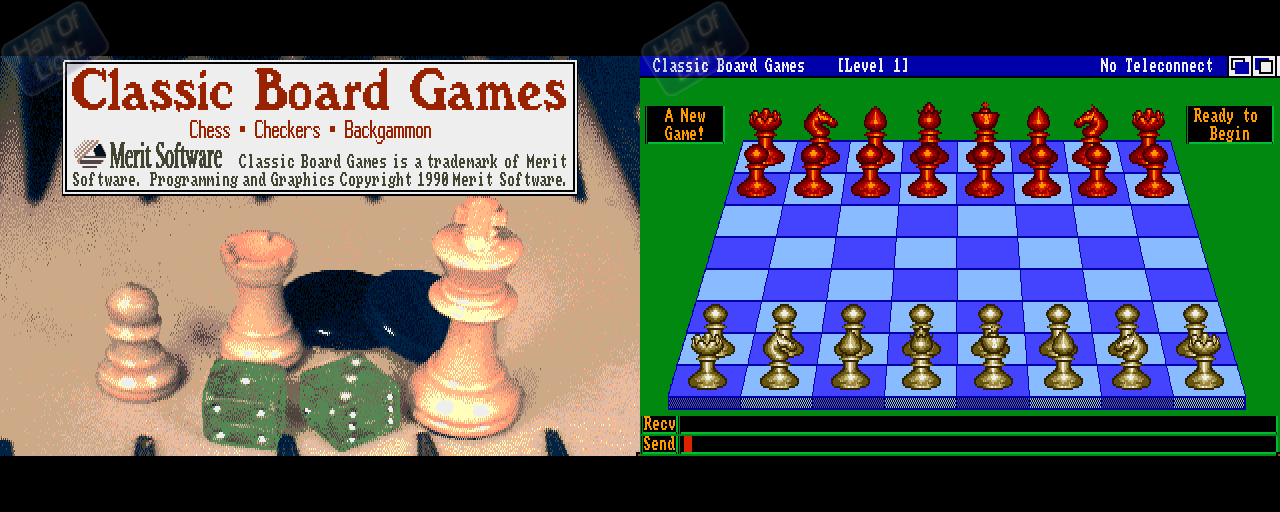 Classic Board Games - Double Barrel Screenshot