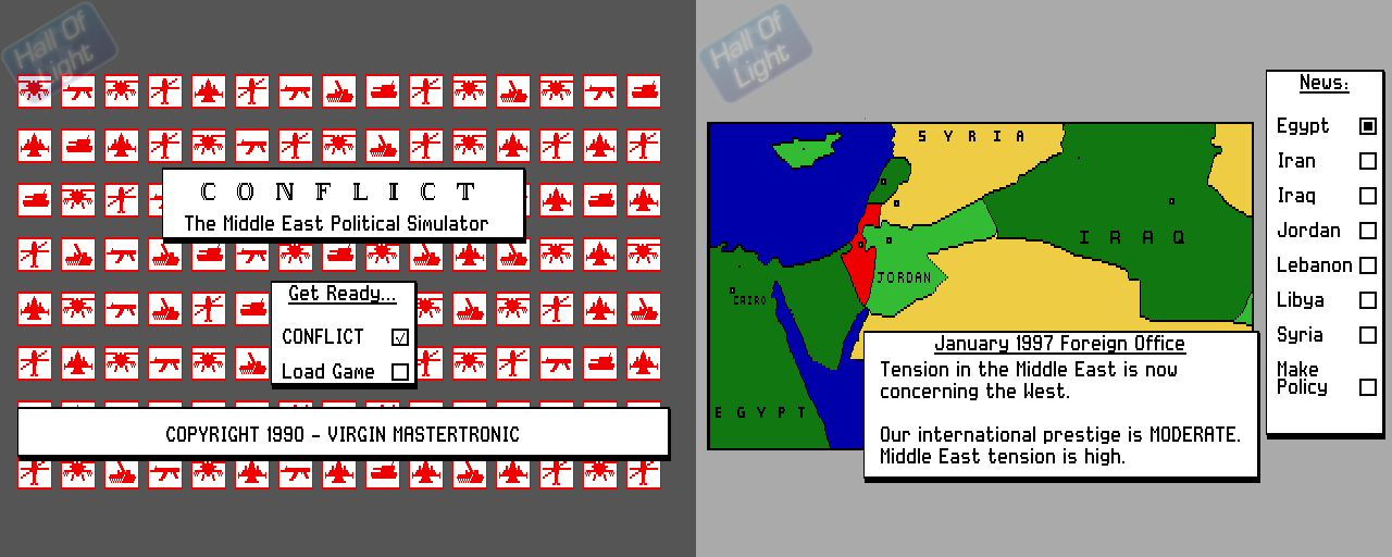 Conflict: The Middle East Simulation - Double Barrel Screenshot