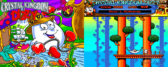 Crystal Kingdom Dizzy - Double Barrel Screenshot
