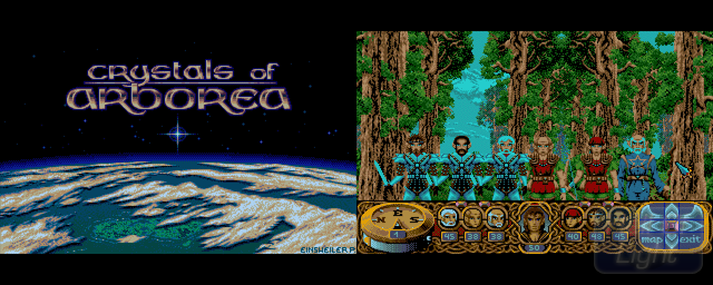 Crystals Of Arborea - Double Barrel Screenshot