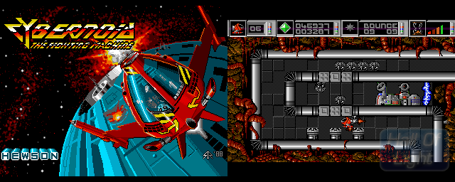 Cybernoid: The Fighting Machine - Double Barrel Screenshot