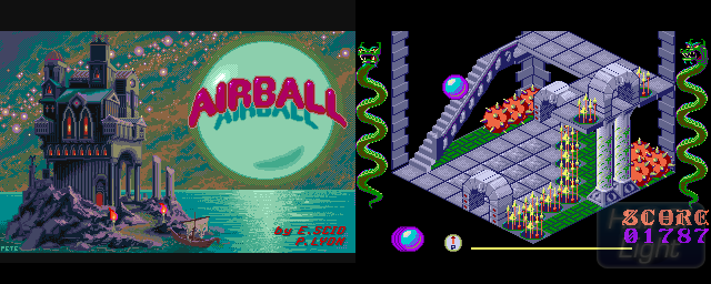 Airball - Double Barrel Screenshot