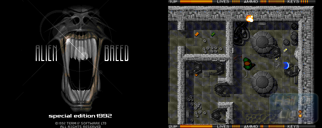Alien Breed Special Edition 92 - Double Barrel Screenshot