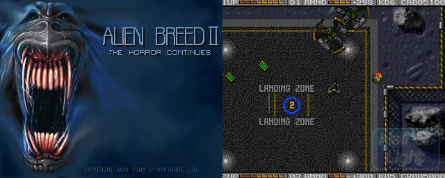 Alien Breed II: The Horror Continues - Double Barrel Screenshot