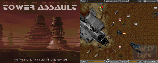 Alien Breed: Tower Assault - Double Barrel Screenshot