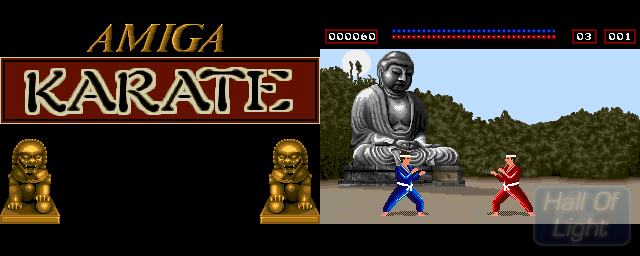 Amiga Karate - Double Barrel Screenshot