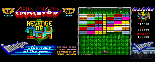 Arkanoid: Revenge Of Doh - Double Barrel Screenshot