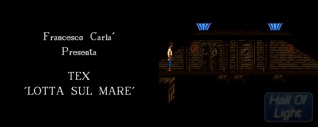 Tex 06: Lotta Sul Mare (Battle On The Sea) - Double Barrel Screenshot