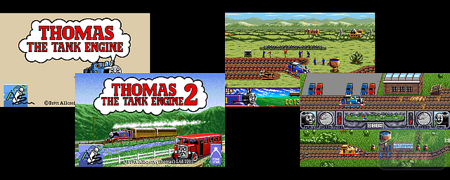 Thomas The Tank Engine: The Collection - Double Barrel Screenshot