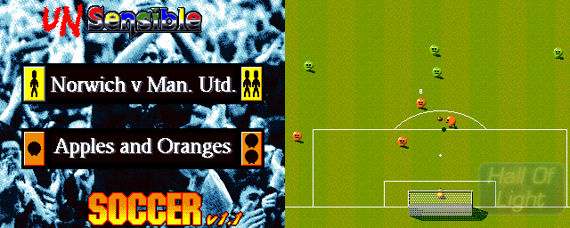 Unsensible Soccer - Double Barrel Screenshot