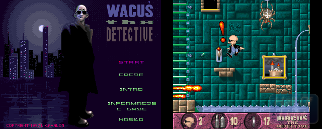 Wacuś The Detective - Double Barrel Screenshot