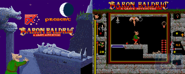 Baron Baldric: A Grave Adventure - Double Barrel Screenshot