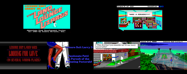 Leisure Suit Larry: Triple Pack - Double Barrel Screenshot