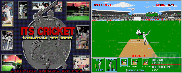 ITS Cricket: International Test Series (1995 Edition) - Double Barrel Screenshot