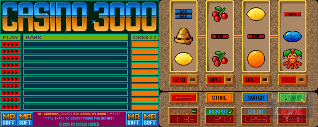 Casino 3000 - Double Barrel Screenshot