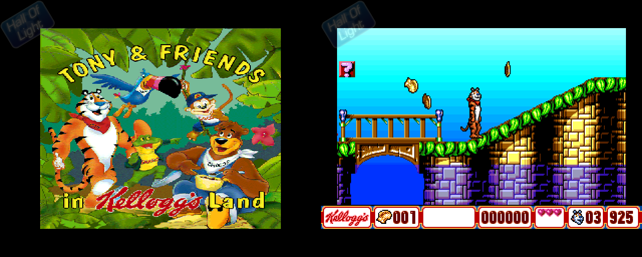 Tony & Friends In Kellogg's Land - Double Barrel Screenshot