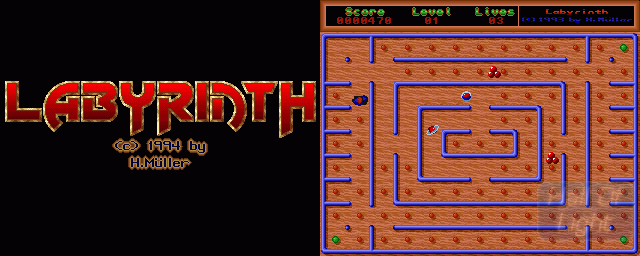 Labyrinth (Schatztruhe) - Double Barrel Screenshot