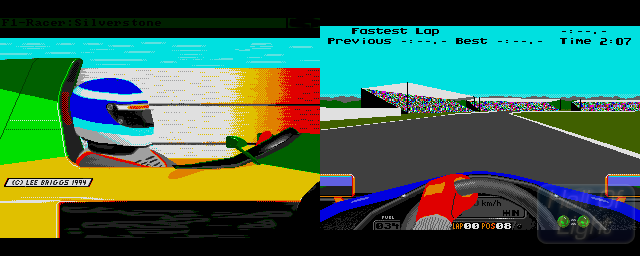 F1-Racer - Double Barrel Screenshot
