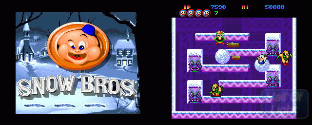 Snow Bros. - Double Barrel Screenshot