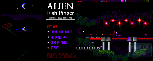 Alien Fish Finger - Double Barrel Screenshot