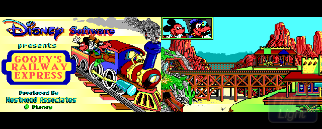 Goofy's Railway Express - Double Barrel Screenshot