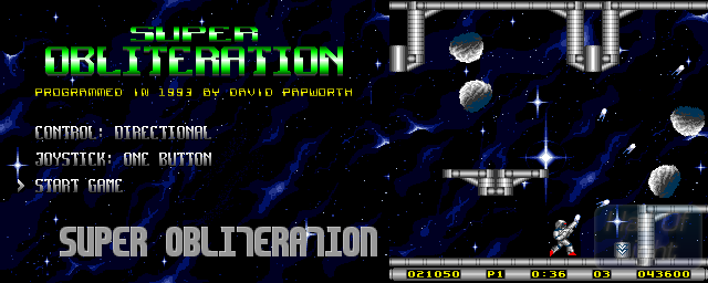 Super Obliteration - Double Barrel Screenshot