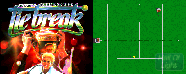 adidas Championship Tie-Break - Double Barrel Screenshot