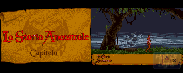 Storia Ancestrale, La - Double Barrel Screenshot