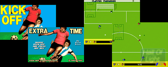Kick Off + Extra Time - Double Barrel Screenshot
