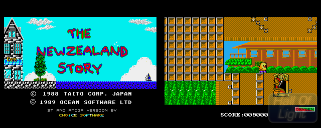 New Zealand Story, The (Amiga Format Demo) - Double Barrel Screenshot